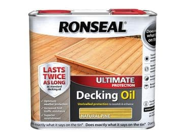 Ultimate Protection Decking Oil Natural Pine 2.5 litre